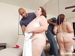 Bbw lady lynn just got nailed by a big black cock