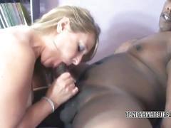 Huge titted milf liisa wants a big black cock
