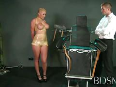 Master rose pleases a busty blonde with his cock