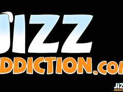 Jizz addiction - lex lane jerking after swim class