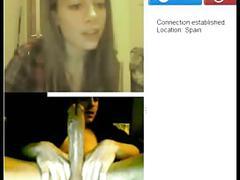 Big cock reactions on webcam part 1