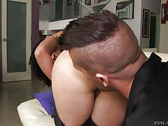 Brunette lady loves it in her ass @ dana vespoli's real sex diary #02