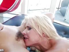Anikka albrite & riley reid share cock
