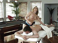 milf, blonde, massage, pussy licking, brunette, phone talking, digital playground, manuel ferrara, kayden kross, james deen, mischa brooks, allie james, lia lor, alexis texas, erik everhard