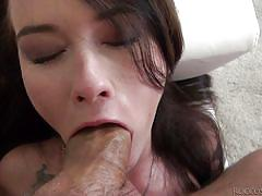 Mouth fucked and cock slapped @ rocco's pov volume #33