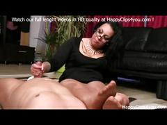 Gina foot smelling handjob