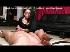Gina foot smelling handjob
