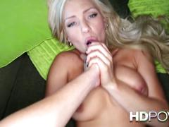 Hd pov hot slutty blonde with big tits wants to fuck you