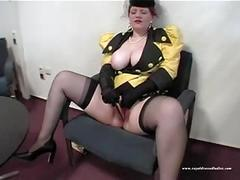 Beautiful depraved slut fuck in waiting room