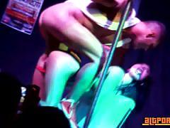 Big tit stripper franceska club banged