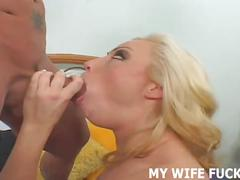 Watch your hot wife get fucked by a new guy every day
