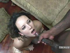 Brunette cami smalls gets her pussy fucked hard