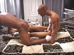 Muscular black gays fucking hard
