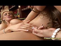 Dani daniels and tanja tate go lesbo together