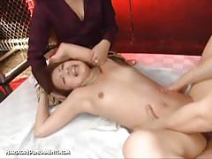 Awesome japanese pussy drilling to the extremes