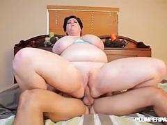 brunette, big dick, hardcore, big tits, busty, big nipples, reverse cowgirl, interracial, doggy style, fat, chubby, bbw, big boobs, huge tits, chunky, black hair, plumper