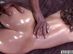 Sexy olivia wilder gets a massive black cock in her pussy doggy style fucked