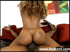Hot ebony yexes dines riding a bigcock - www.fuckent.com
