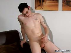 Eric evans enjoys jerking his big meat.