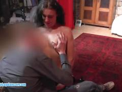 Czech milf gets licked, fingered and gives hot bj