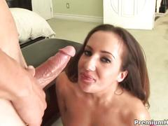 Richelle ryan mouthful of cock and cum
