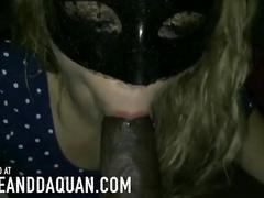 Your daughter devours bbc in slow motion
