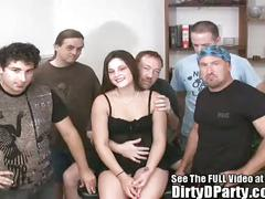 Perfect pussy party slut gangbanged good