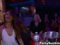 Male stripper party with dirty ladies