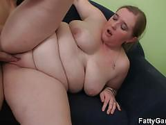 Fat girl dared to pick up a guy to fuck her