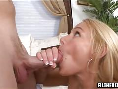 Melanie monroe's pussy stuffed with a cock