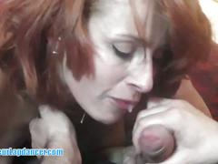 Kinky anal for redhead lapdancer