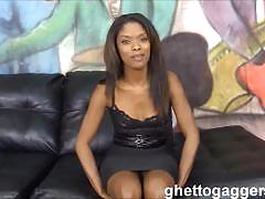 Ashlynn sixxx rough banged by two white guys