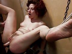 Bad girl gets a spank