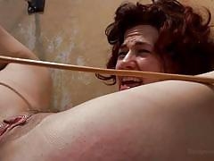 Bad girl gets a spank