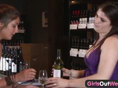 Girls out west - amateur lesbian tit suckers