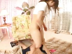 Yuri etou assjob - between the cheekz 3
