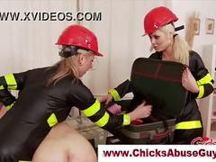 Hot femdom firewomen
