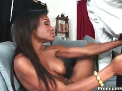 Ebony babe lisa belize getting nailed by hard cock