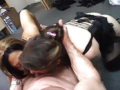 Sexy babes sharing on a hard meat