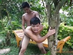 Non-stop anal fucking asian boys