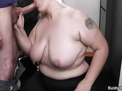 Chubby office girl goes sweet fucking at work