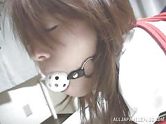 small tits, milf, japanese, tied, blowjob, cosplay, censored, ball gag, j cos play, all japanese pass, ai himeno