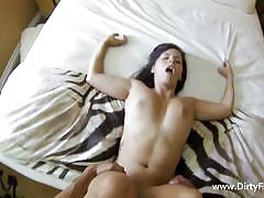 Busty keisha gets fucked and filmed