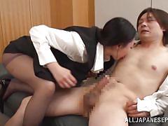 babe, japanese, office, blowjob, busty, natural tits, censored, black hair, cock riding, office sex jp, all japanese pass, nachi kurosawa