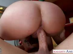 Chesty brunette gf brooklyn chase gets nailed