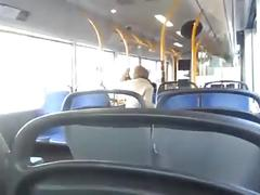 Sucking dick and fucking in public bus