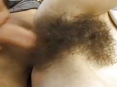 Hairy skinny with small tiny tits bvr