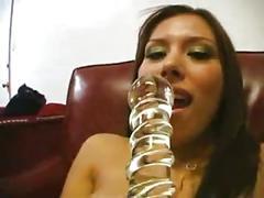 Latina wet pussy masturbation