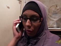 نصر من الله و فتح قریب hijab niqab arab group fuck - nabila bouachir