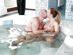 Couples making love in jacuzzi @ amazing tits #04